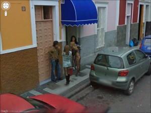 prostitutas street view lenocinio concepto
